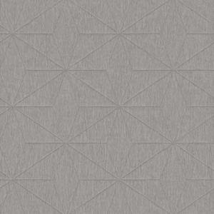 2896-25341 Bernice Diamond Geometric Silver Brewster Wallpaper