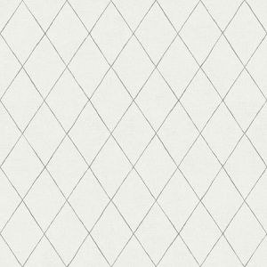 2948-27001 Rhombus Geometric Grey Brewster Wallpaper