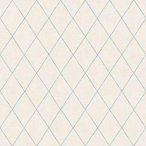 2948-27002 Rhombus Geometric Blue Brewster Wallpaper