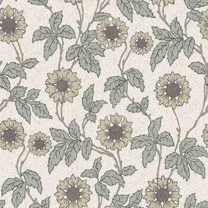 2948-28020 Leilani Floral White Brewster Wallpaper