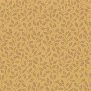 2948-33017 Posey Vines Mustard Brewster Wallpaper