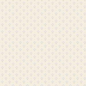 2948-33026 Lili Miniature Floral White Brewster Wallpaper