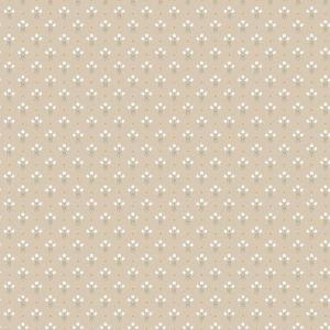 2948-33027 Lili Miniature Floral Beige Brewster Wallpaper