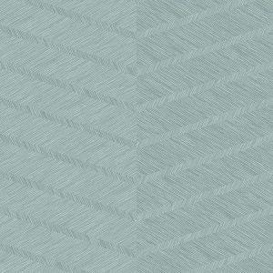 2964-25916 Aspen Chevron Aqua Brewster Wallpaper