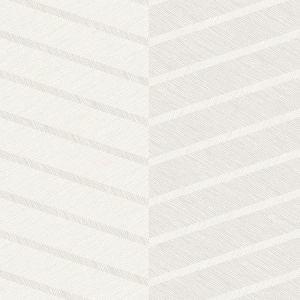 2964-25919 Aspen Chevron White Brewster Wallpaper