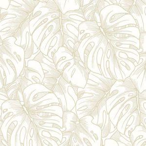 2964-87341 Balboa Botanical Gold Brewster Wallpaper