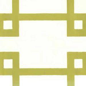 300404OWP BRIGHTON Pistachio On Off White Quadrille Wallpaper