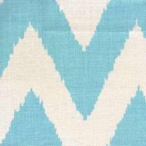 302503F TASHKENT Turquoise on Oyster Quadrille Fabric