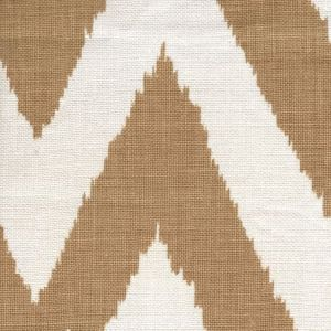 302504F TASHKENT Gold on Oyster Quadrille Fabric