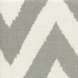 302512F TASHKENT Grey on Oyster Quadrille Fabric