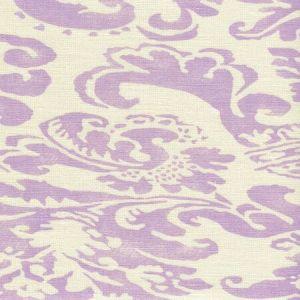 302840B-05 BROMONTE Soft Lavender on Tint Quadrille Fabric