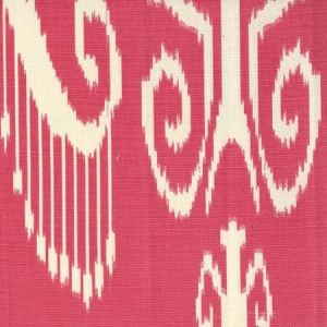 303036TLC NOMAD Watermelon on Tinted Cotton Linen Quadrille Fabric