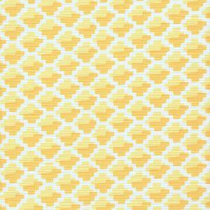 303720F-07 IL GIOCO Sun Yellow on Light Tint Quadrille Fabric