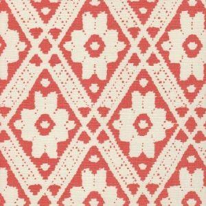 305054F VIENNESE Terracotta on Tint Quadrille Fabric