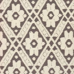 305055F VIENNESE Gray on Tint Quadrille Fabric