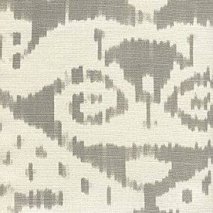 306046F MALAYA Gray on Tint Quadrille Fabric