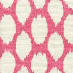 306137F ADRAS REVERSE Watermelon on Tint Quadrille Fabric
