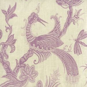 306203F PARADIS Lavender on Tint Quadrille Fabric