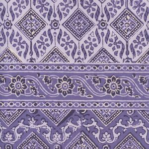 306610F-02 LORENZO STRIPE Multi Lavenders Quadrille Fabric