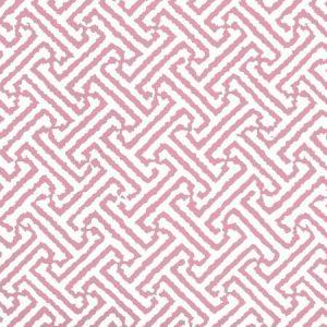 3080-31WP JAVA JAVA Pink On White Quadrille Wallpaper