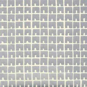 4045-01WP FEZ II Brown On Off White Quadrille Wallpaper