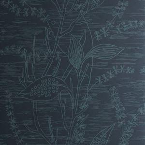 50269W ELLERSLIE Navy 03 Fabricut Wallpaper