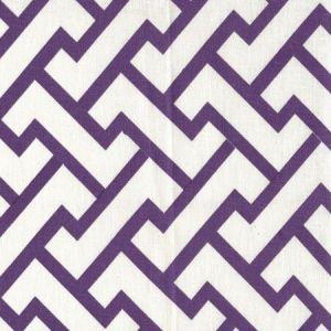 6340-40 AGA Purple on Tint Quadrille Fabric