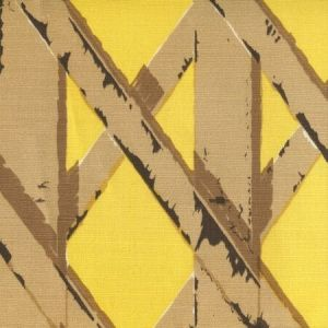6740-06 GAZEBO Camels with Sunflower Background Quadrille Fabric