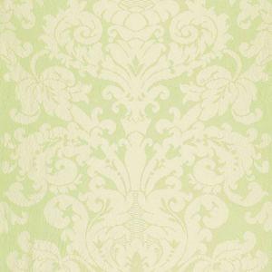 68883 CHATEAU SILK DAMASK Citron Schumacher Fabric