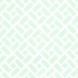 6990WP-03 EDO Celadon On Almost White Quadrille Wallpaper