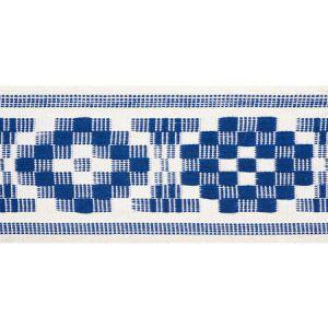75310 Maidstone Tape Blue Schumacher Trim