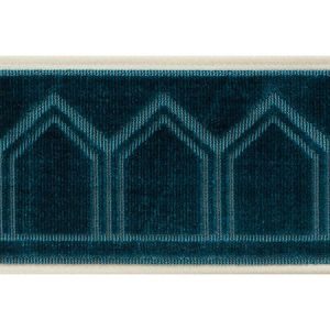 75730 Vizier Tape Peacock Schumacher Trim