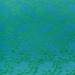 78100 RUAN DRAGON DAMASK Emerald Schumacher Fabric