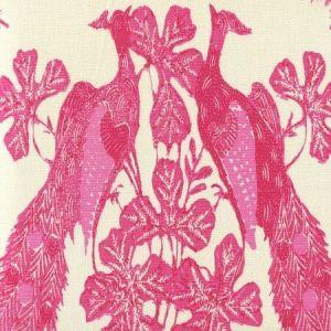8270-04 PEACOCK BATIK Multi Pinks on Tint Quadrille Fabric