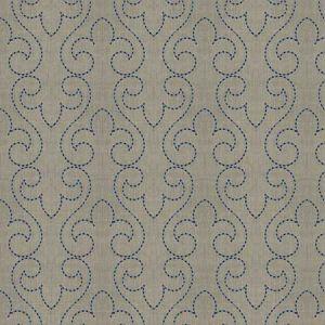 PORTAMENTO Cobalt Fabricut Fabric