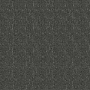 HEX SHARP Charcoal Fabricut Fabric