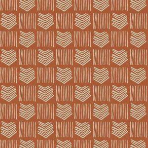 STACCATO Orange Fabricut Fabric