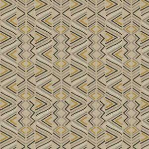 TUTTI TRIBAL Golden Fabricut Fabric