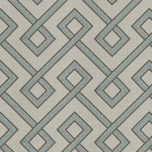 CONSONANCE Turquoise Fabricut Fabric