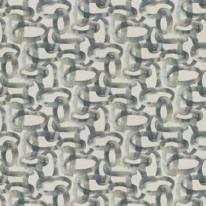 LOCRIAN LINKS Slate Fabricut Fabric