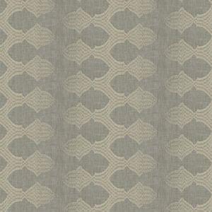EXCESSIVE STRIPE Dove Fabricut Fabric