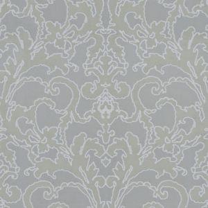 BEVERLY HILLS DAMASK Grey Fabricut Fabric