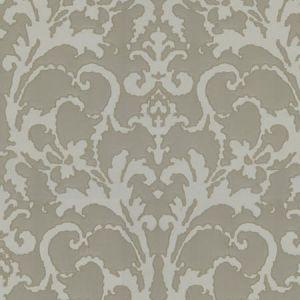 BEVERLY HILLS DAMASK Linen Fabricut Fabric