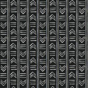 SARGENT ARROWS Ebony Fabricut Fabric