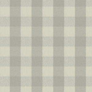MAGERS CHECK Fog Fabricut Fabric