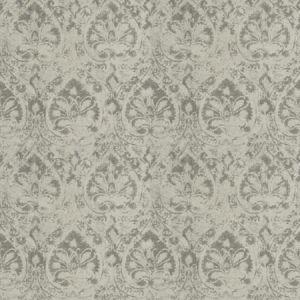 CRITIQUE DAMASK Ash Fabricut Fabric