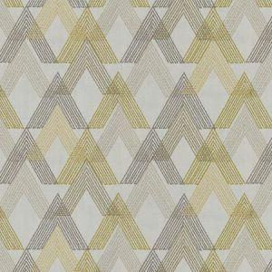VASHEM ARROW Citrine Fabricut Fabric