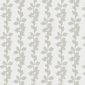 ROSSEAU LEAVES Grey Fabricut Fabric