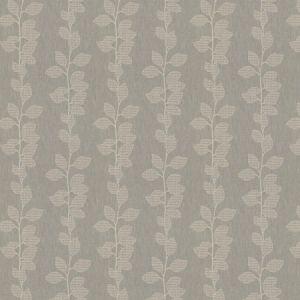 ROSSEAU LEAVES Ash Fabricut Fabric