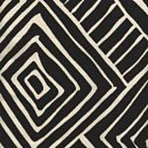 AC206-39 MELINDA Black on Tint Quadrille Fabric